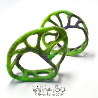 Mobius Felt Bracelets