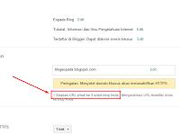 Cara Custom Domain (Blogspot) di IDwebhost