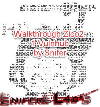 Walkthrough Zico2: 1 Vulnhub ~ Snifer@L4b's