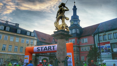 Start Rennsteiglauf Supermarathon 2016