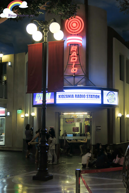 Kidzania Manila Radio Station