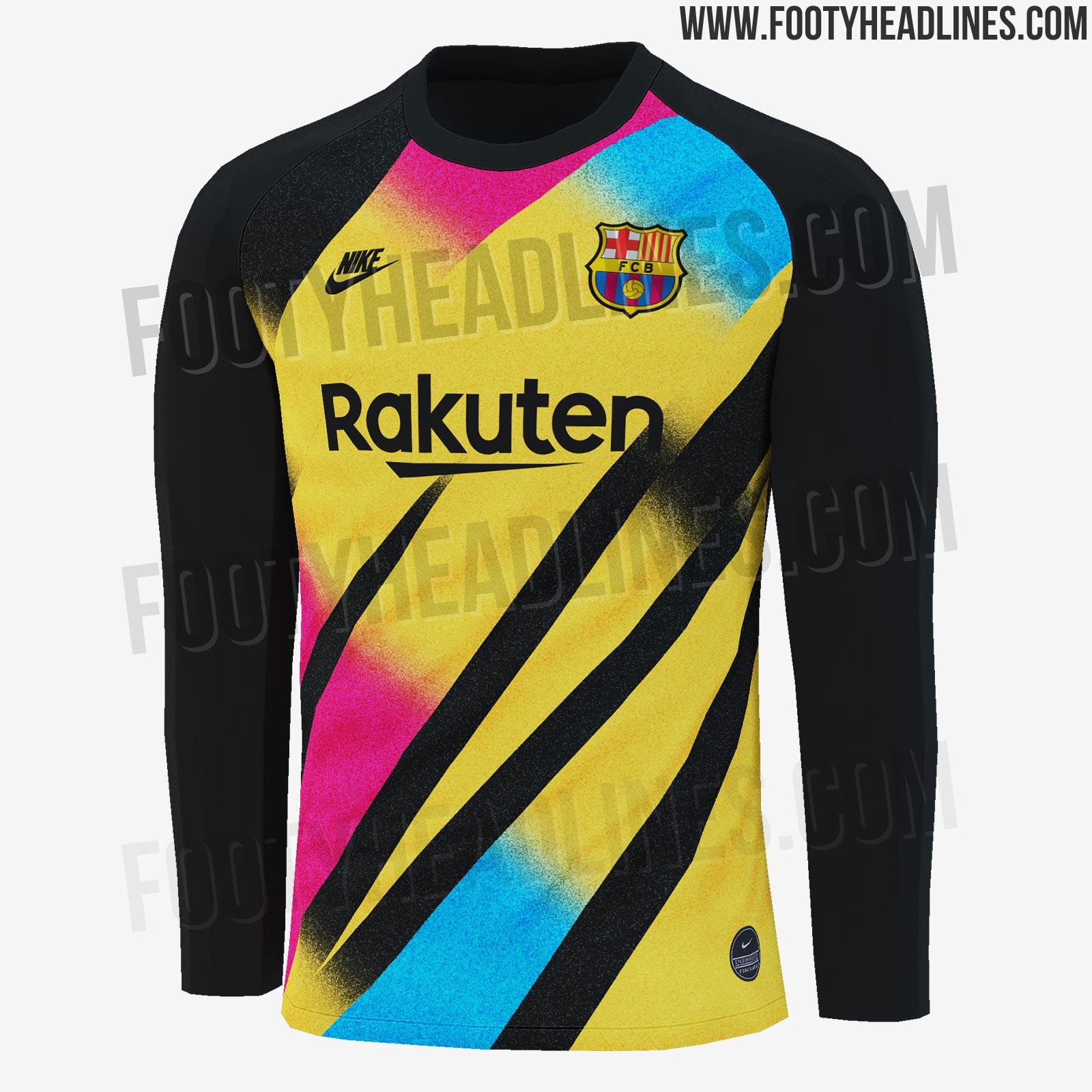 Alternatief keepersshirt FC Barcelona
