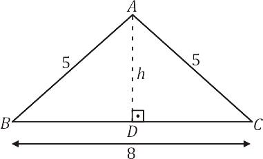 Exemplo 2 - Triângulo retângulo - relações métricas - semelhanças