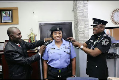 Lagos Police Zonal Spokesperson, Dolapo Badmus Decorated As CSP (Photos)