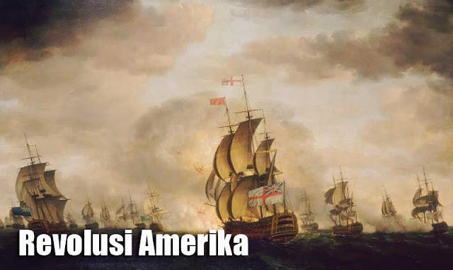 Gambar ilustrasi 3 penyebab Perang Kemerdekaan Amerika