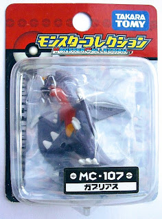 Garchomp figure Takara Tomy Monster Collection MC series