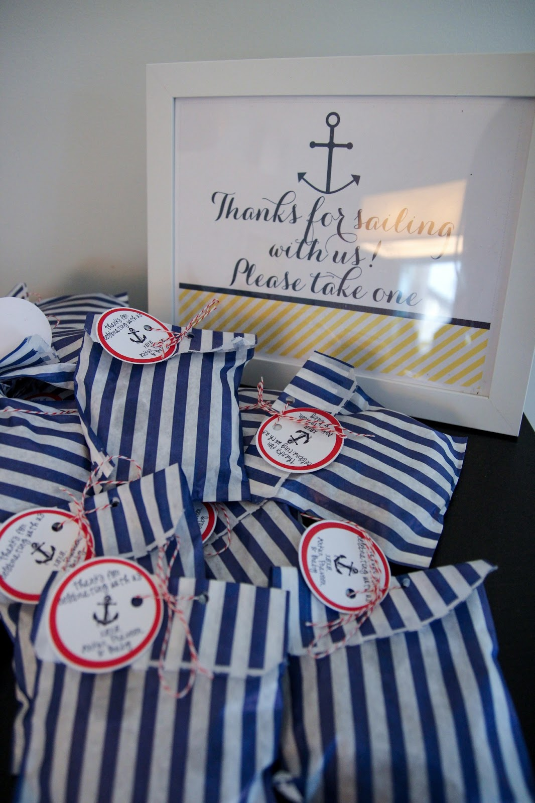 Rivernorthlove Nautical Navy Amp Yellow Baby Shower