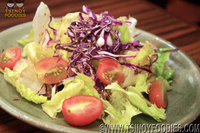 sariwon korean barbecue salad
