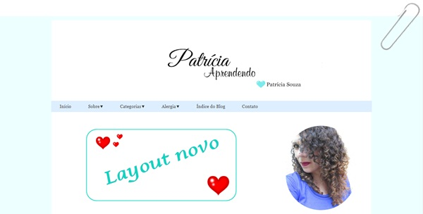 foto novo template layout