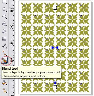 Membuat Pola Batik Dengan Coreldraw Belajar Coreldraw