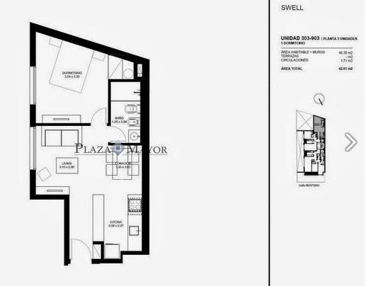 Unidad 303 - 903 Edificio Swell