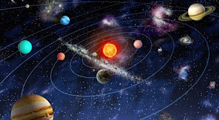 Pengertian Tata Surya (Solar System) [image by klikgeografi.blogspot.co.id],