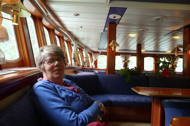 Noorwegen veerboot Hellesylt Geiranger