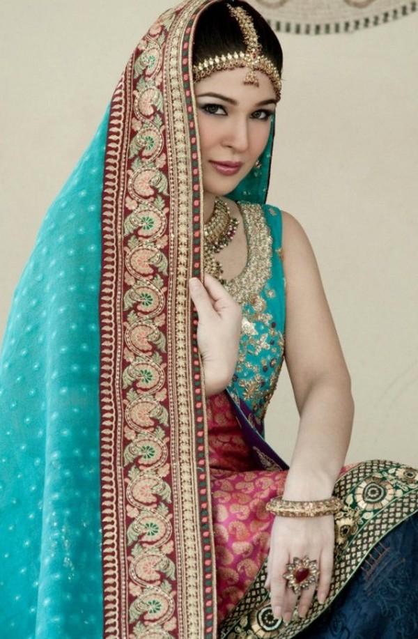 Paki Fashion 2012 Bridel Jhomer