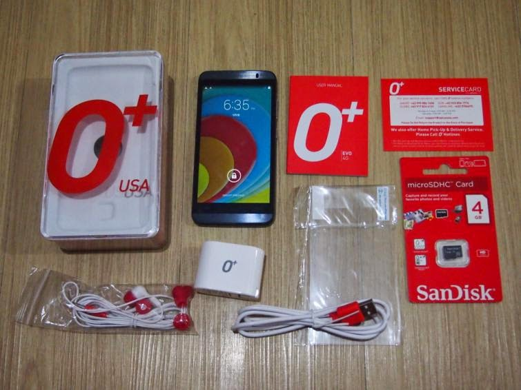 O+ EVO 4G Review, Speed At Your Fingertips