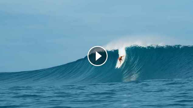 The Monster Indo Swell of July 25th 2018 Hits Kandui Amp Sessions