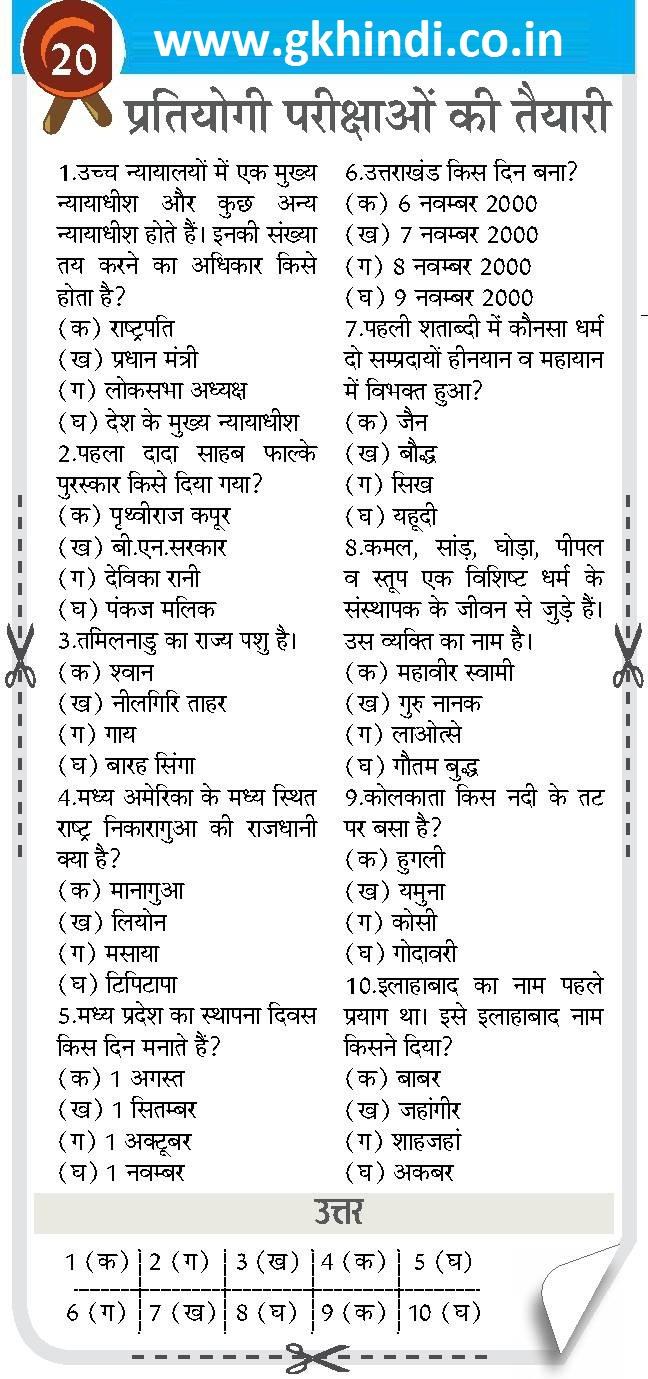 राजस्थान सामान्य ज्ञान