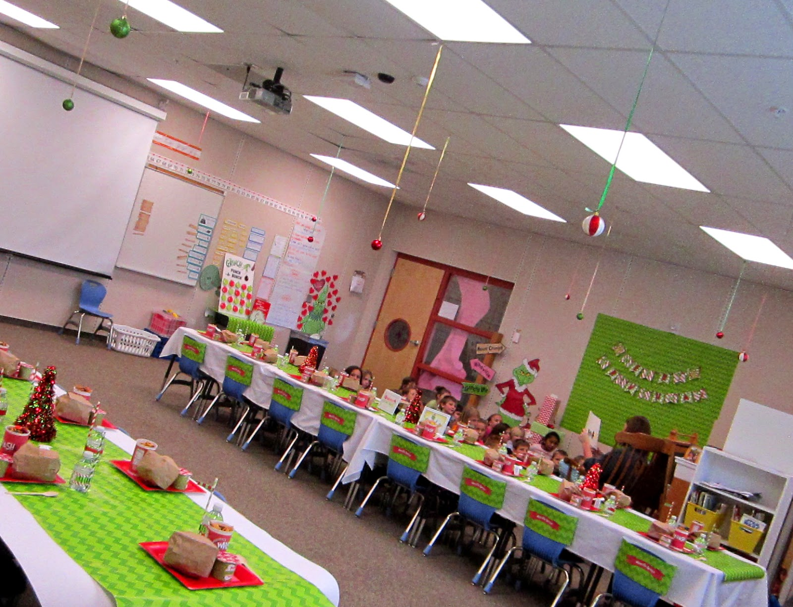 The Grinch Christmas Party.Sweeten Your Day Events Grinch Classroom Party