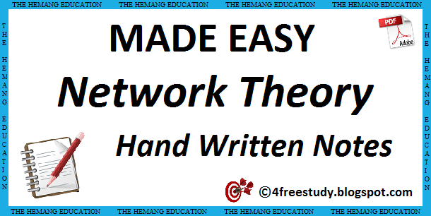 Network Theory Book Pdf