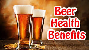 benefits come from drinking beer