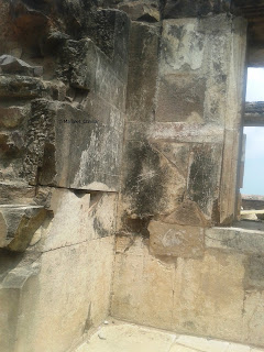 stone construction at Bhangarh