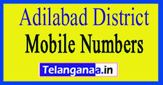Mancherial Mandal MPTC | ZPTC Member | MPP | Vice-President Mobile Numbers Adilabad District in Telangana State