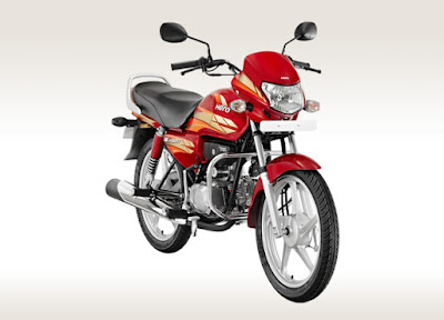 New Hero HF Deluxe 100 cc bike
