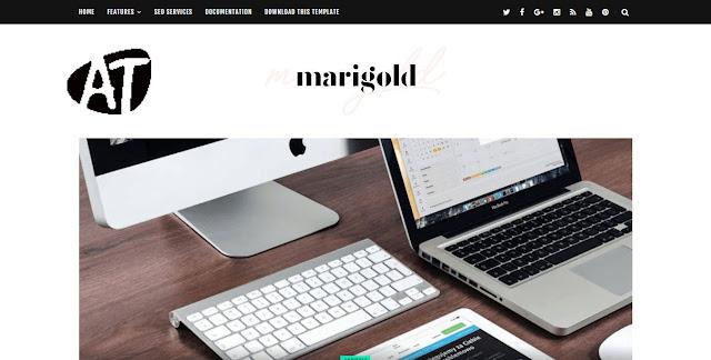 Marigold Personal Blogger Template