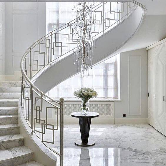40 Ways To Decorate Your Staircase Wall 2018: 40 Modern Stair Railing Ideas
