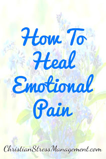How to heal emotional pain