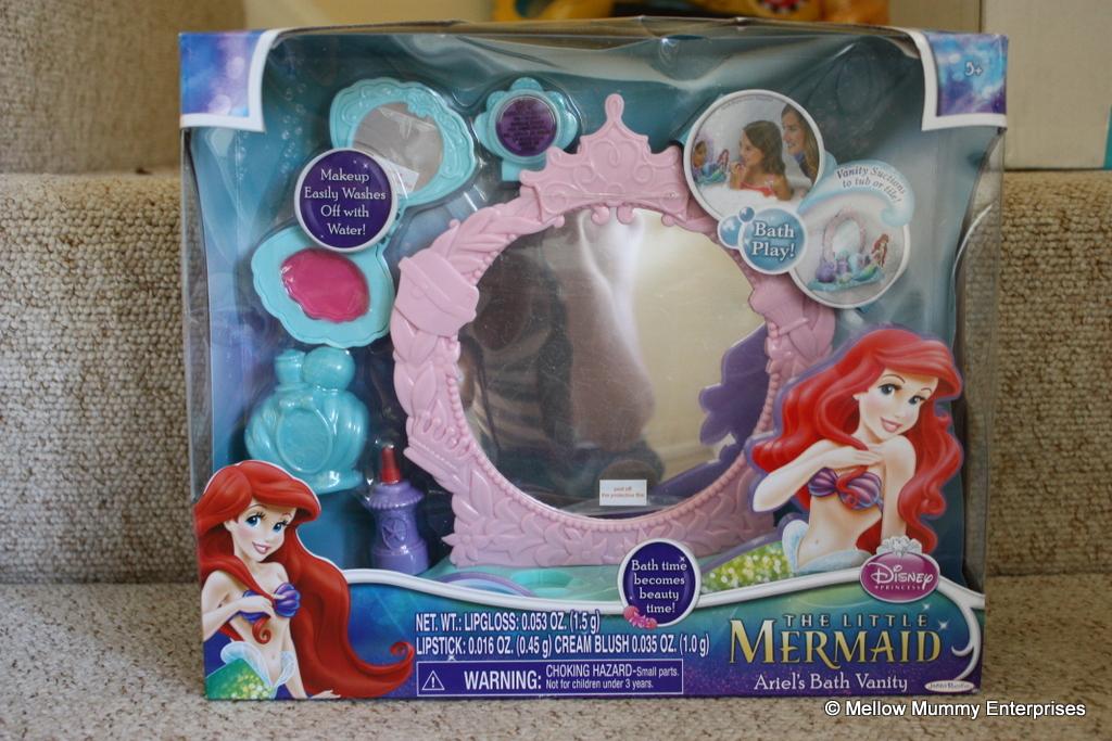 Mellow Mummy Disney Princess Ariel S Vanity Set Bathroom