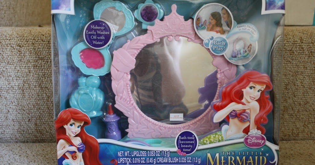 Mellow Mummy Disney Princess Ariel S Vanity Set Bathroom