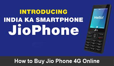 Buy Jio Phone 4G Online