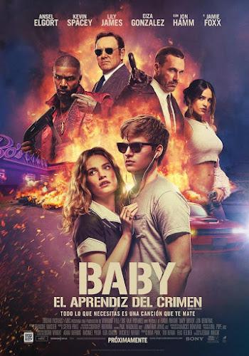 Baby Driver (BRRip 1080p Dual Latino / Ingles) (2017)