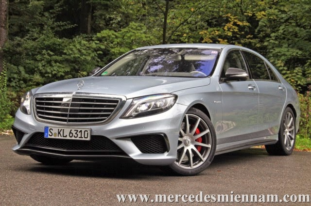 Xe Mercedes Benz S63 AMG Sedan 1