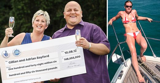 Se ganó la lotería y se fue con una joven que lo abandonó