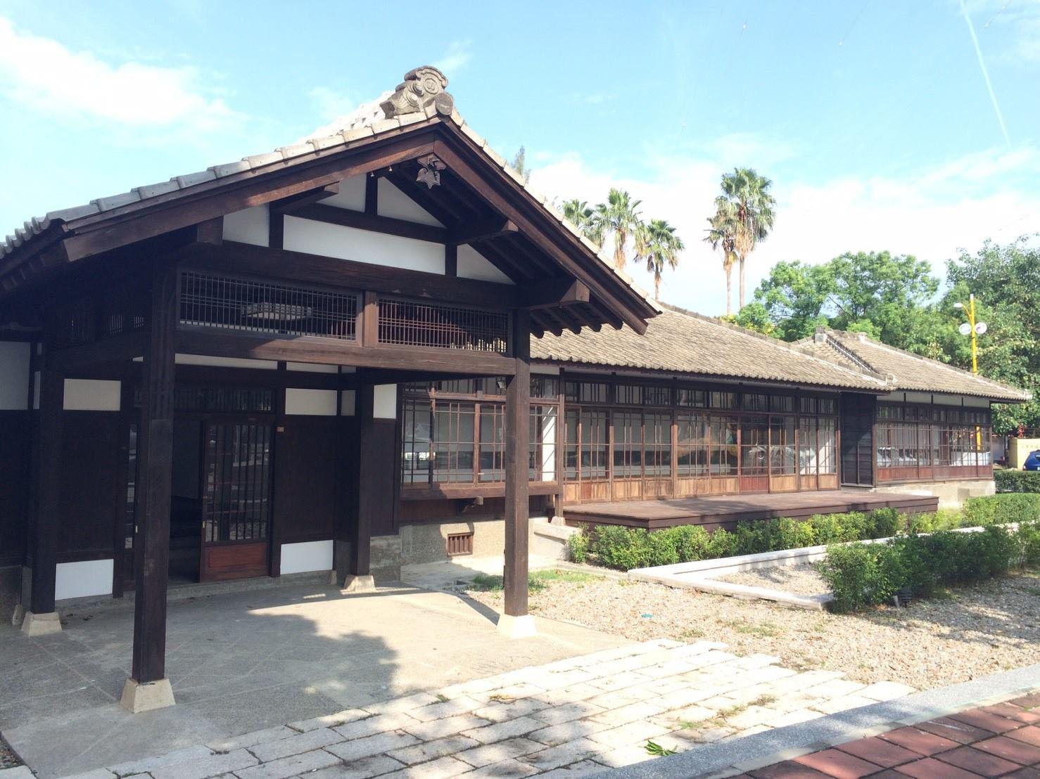 雲林虎尾《涌翠閣 光線美麗的日式古建築》美學教育與文化傳承的藝術進駐!