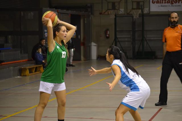 Paúles gana al Zornotza (55-34)