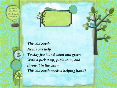 Famous Earth Day Poems For Second Grade