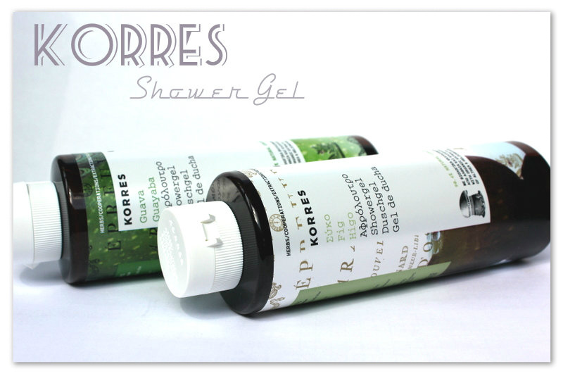 Review: Fig Shower Gel and Guava Shower Gel from Korres