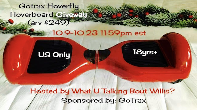 GoTrax hOverboard hOverfly Giveaway