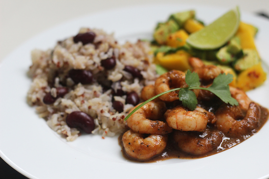 jerk king prawns recipe