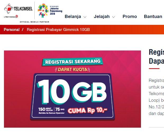 Daftar Kode Paket Internet Telkomsel Murah Terbaru 2018