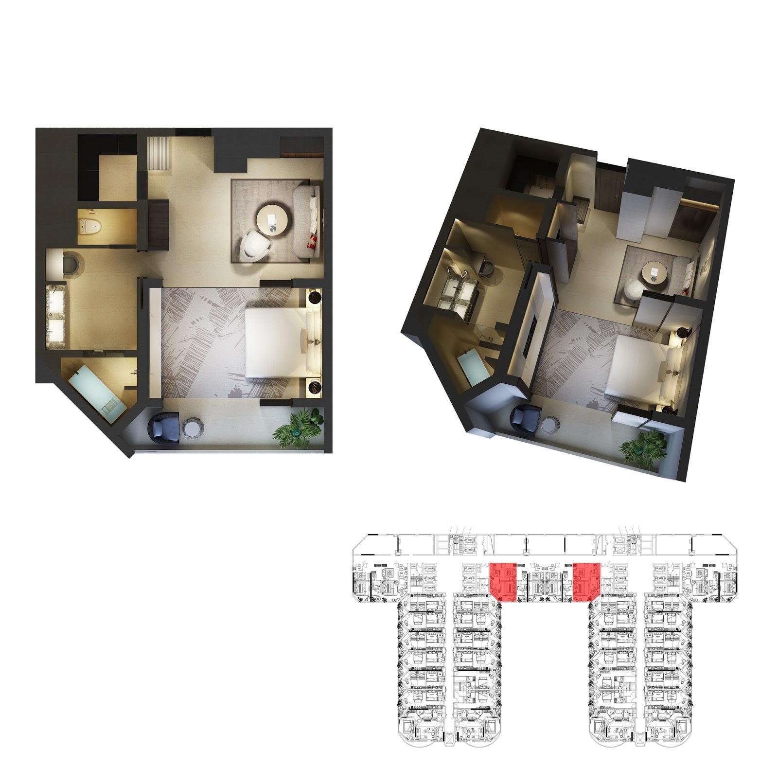 Thiết kế căn hộ số 4 Swisstouches  Nhatrang