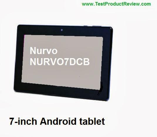 Nurvo NURVO7DCB 7-inch Android tablet