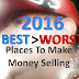 2016 Best and Worst Places To Make Money Selling Online