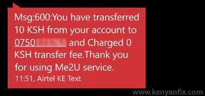 transfer sms