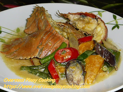 Ginataang Pitik, Slipper Lobsters Recipes