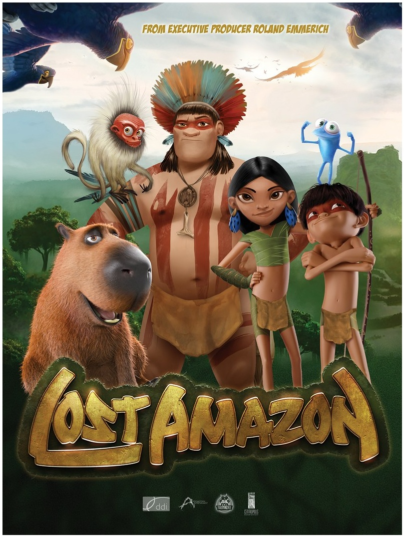A Lush Adventure Awaits Us Also In Roland Emmerich Produced Animated Movie LOST AMAZON Set For 2018 Release The Story Of Is Long