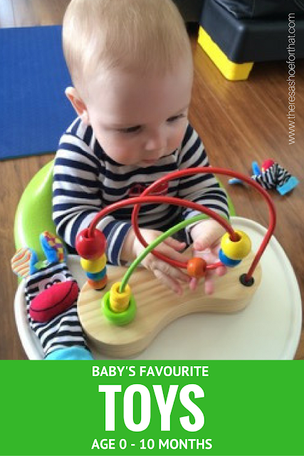 Baby's favourite toys - Age 0-10 months